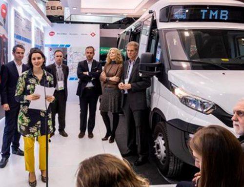 Presentado el primer minibús eléctrico avanzado de fabricación catalana que prestará servicio en Barcelona