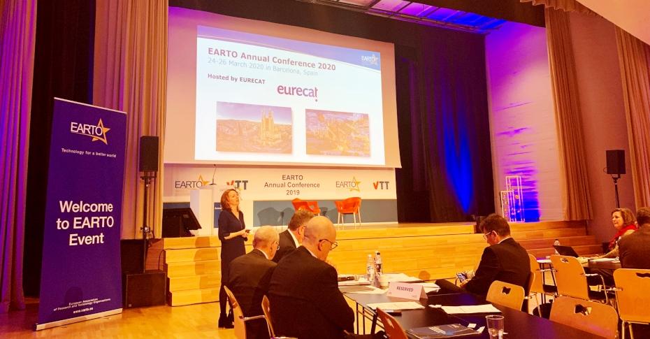 eurecat conferència anual earto 2020 barcelona