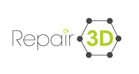 Repair3D logo