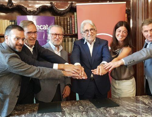Foment y Eurecat firman un convenio de colaboración para favorecer la competitividad tecnológica de las empresas catalanas