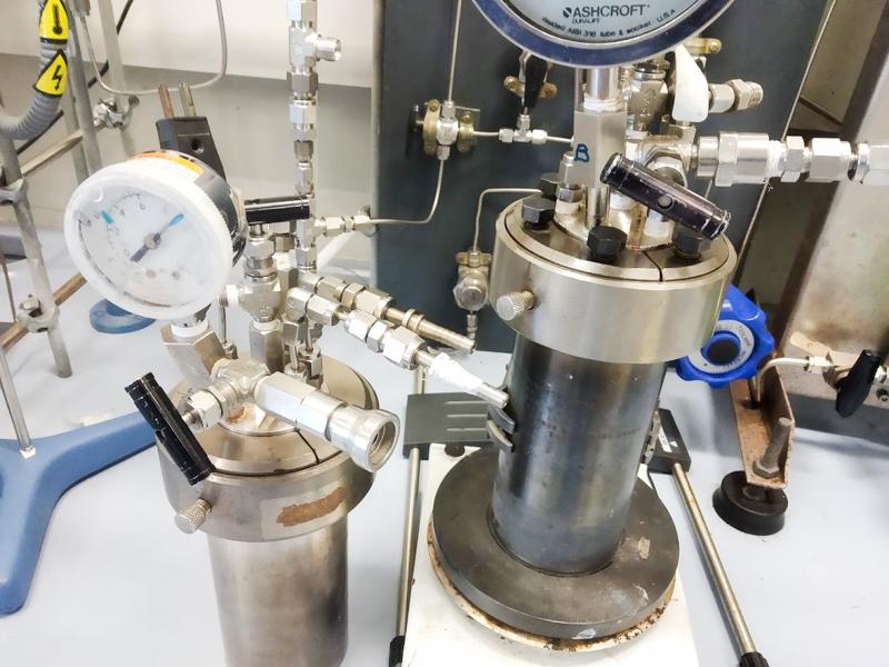 Reactors químics per avaluació de catalitzadors eurecat