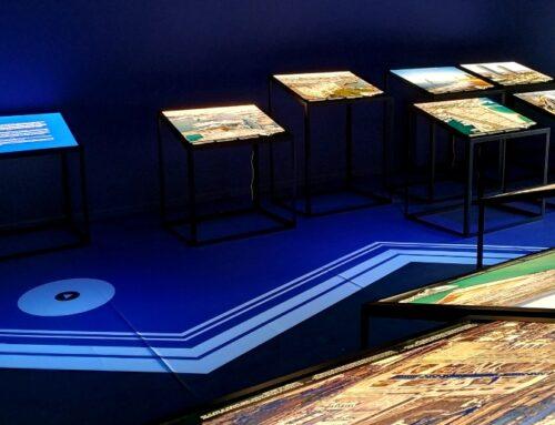 """L'exposició """"La Línia de costa de Barcelona"""" proposa una experiència interactiva per l'evolució del litoral barceloní"""