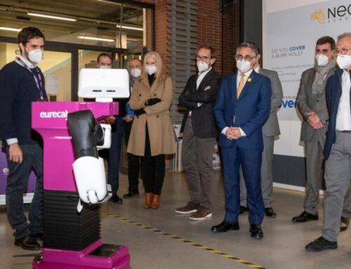 El conseller Ramon Tremosa visita les instal·lacions d'Eurecat a Cerdanyola del Vallès