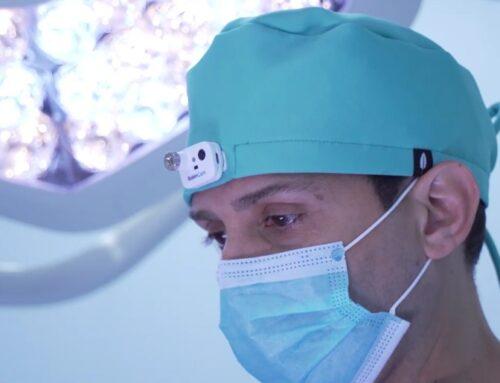 L'empresa Robinhat crea amb Eurecat una gorra quirúrgica que permet que els metges puguin gravar les intervencions