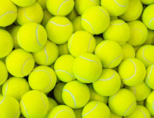 Assagen la valorització de pilotes de tennis per generar un material termoplàstic sostenible